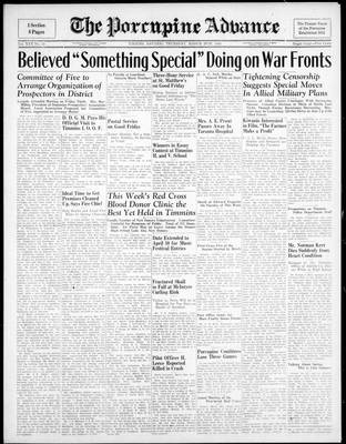 Porcupine Advance, 29 Mar 1945