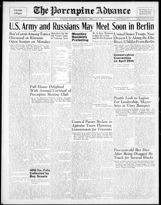 Porcupine Advance, 12 Apr 1945