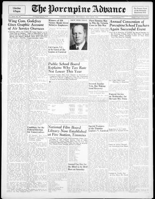 Porcupine Advance, 24 May 1945