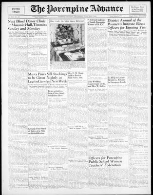Porcupine Advance, 21 Jun 1945