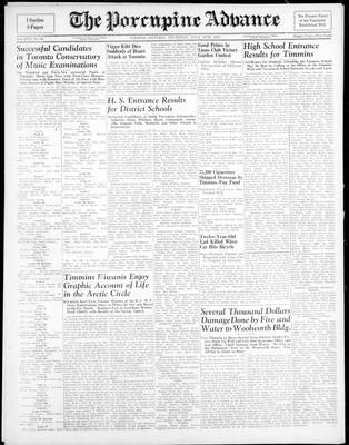 Porcupine Advance, 12 Jul 1945