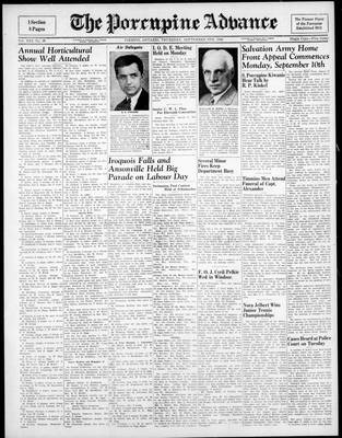 Porcupine Advance, 6 Sep 1945