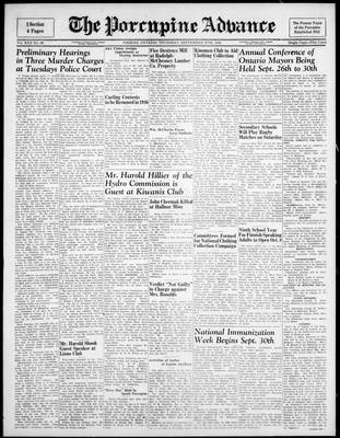 Porcupine Advance, 27 Sep 1945