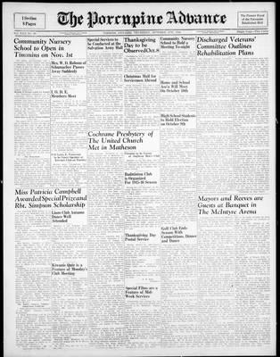 Porcupine Advance, 4 Oct 1945