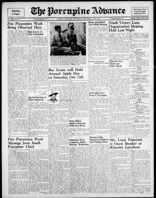 Porcupine Advance, 11 Oct 1945