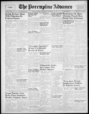 Porcupine Advance, 15 Nov 1945