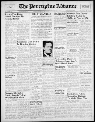 Porcupine Advance, 22 Nov 1945