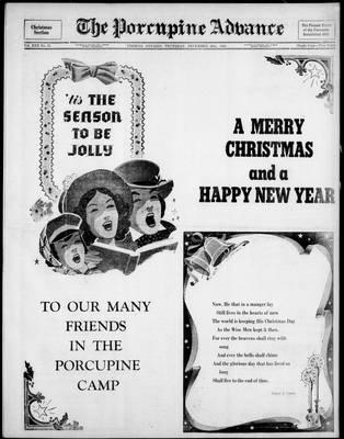Porcupine Advance, 20 Dec 1945