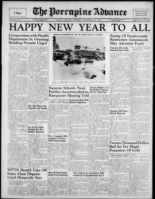 Porcupine Advance, 27 Dec 1945
