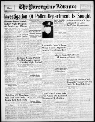 Porcupine Advance, 31 Jan 1946