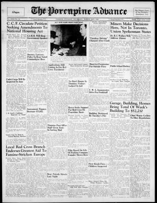 Porcupine Advance, 21 Mar 1946