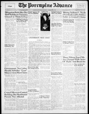 Porcupine Advance, 25 Apr 1946