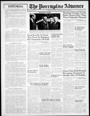 Porcupine Advance, 13 Jun 1946