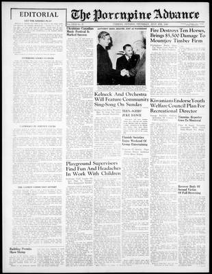 Porcupine Advance, 4 Jul 1946