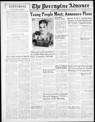 Porcupine Advance, 11 Jul 1946