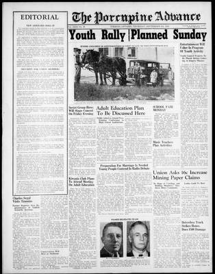 Porcupine Advance, 5 Sep 1946