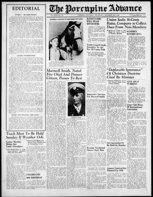 Porcupine Advance, 3 Oct 1946