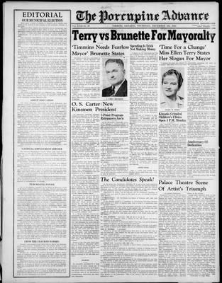 Porcupine Advance, 5 Dec 1946