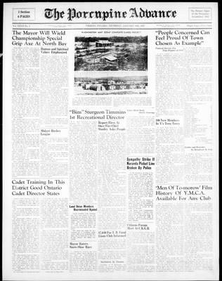 Porcupine Advance, 30 Jan 1947