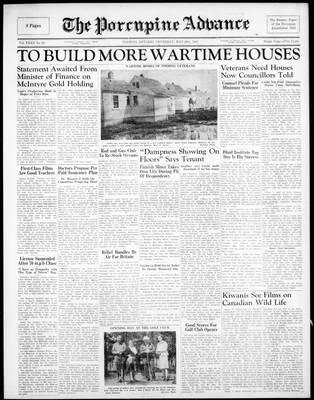 Porcupine Advance, 29 May 1947