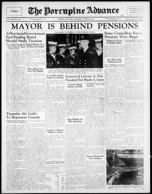 Porcupine Advance, 5 Jun 1947
