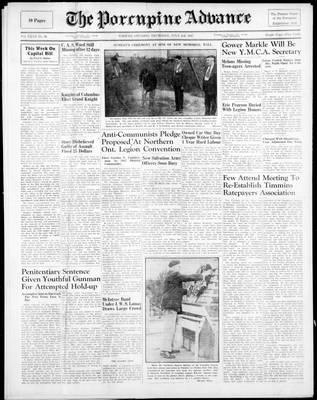 Porcupine Advance, 3 Jul 1947