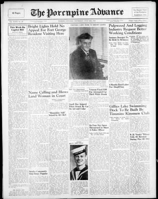 Porcupine Advance, 10 Jul 1947