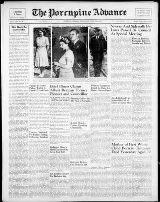 Porcupine Advance, 17 Jul 1947