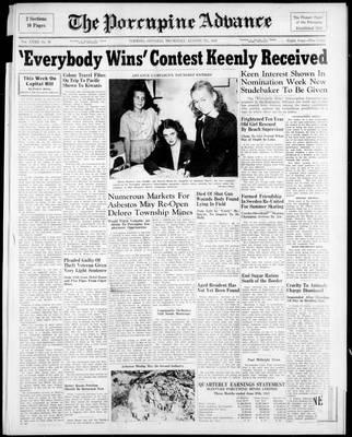 Porcupine Advance, 7 Aug 1947