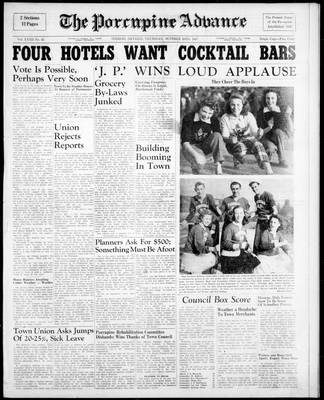 Porcupine Advance, 23 Oct 1947