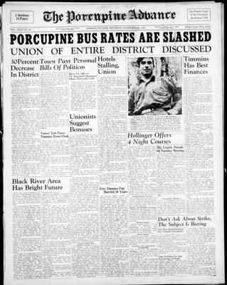 Porcupine Advance, 6 Nov 1947