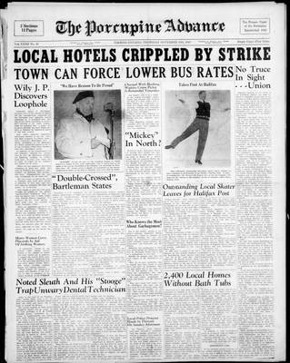 Porcupine Advance, 13 Nov 1947