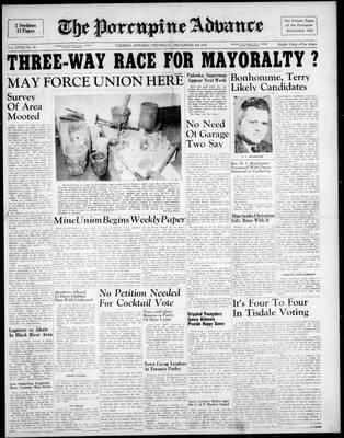 Porcupine Advance, 4 Dec 1947