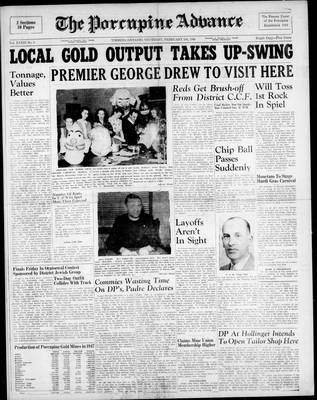 Porcupine Advance, 5 Feb 1948