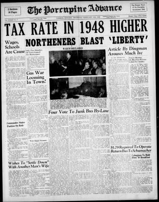 Porcupine Advance, 19 Feb 1948