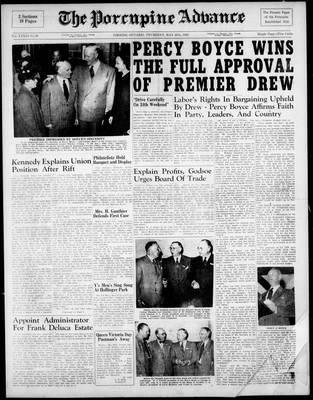 Porcupine Advance, 20 May 1948