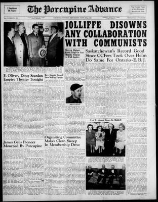 Porcupine Advance, 27 May 1948