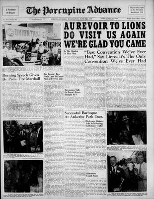 Porcupine Advance, 30 Jun 1948