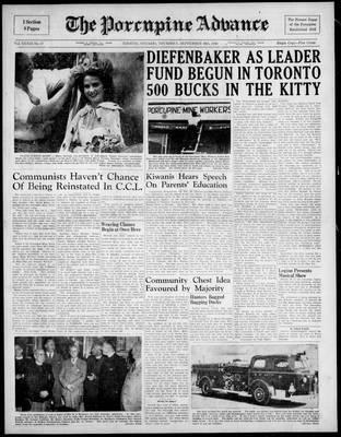 Porcupine Advance, 16 Sep 1948