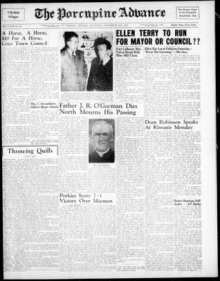 Porcupine Advance, 11 Nov 1948