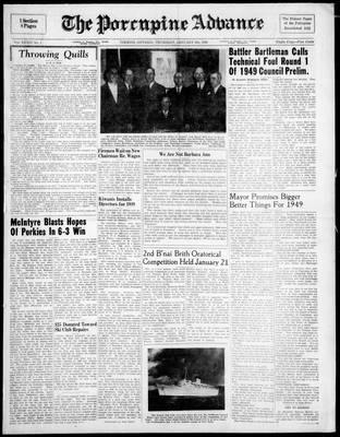 Porcupine Advance, 6 Jan 1949