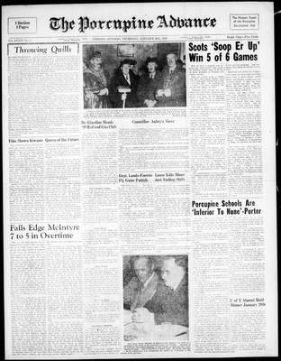 Porcupine Advance, 20 Jan 1949