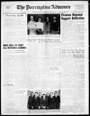Porcupine Advance, 27 Jan 1949