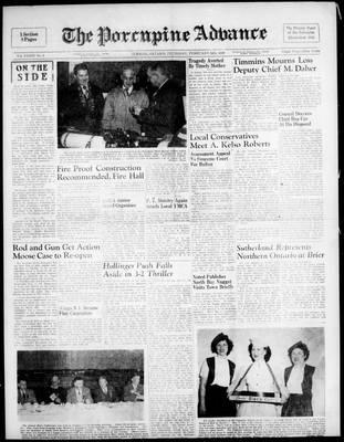 Porcupine Advance, 24 Feb 1949
