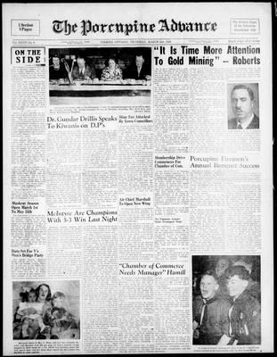 Porcupine Advance, 3 Mar 1949