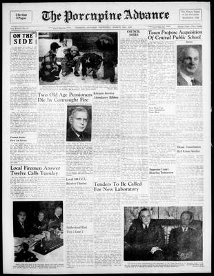 Porcupine Advance, 10 Mar 1949