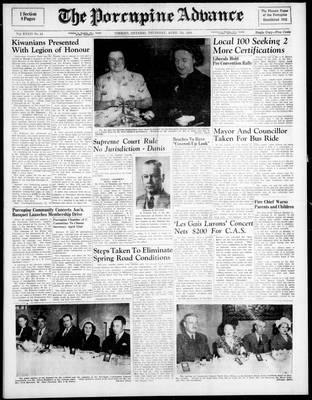 Porcupine Advance, 7 Apr 1949