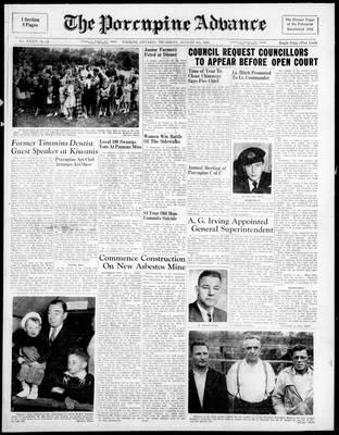 Porcupine Advance, 4 Aug 1949