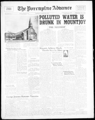 Porcupine Advance, 2 Mar 1950