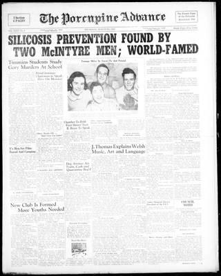 Porcupine Advance, 9 Mar 1950